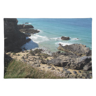 Coast Path nr Padstow, Cornwall Photo Placemat