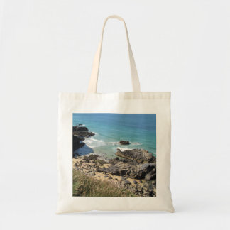 Coast Path nr Padstow, Cornwall Photo Tote Bag