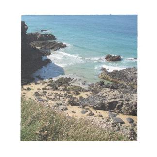 Coast Path nr Padstow, Cornwall Photograph Notepad