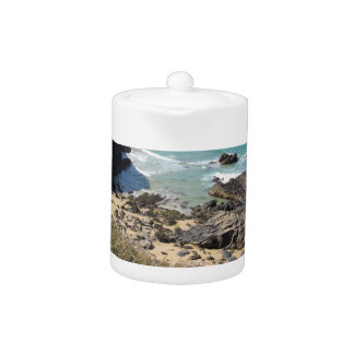 Coast Path nr Padstow, Cornwall Photograph Teapot