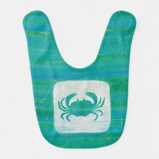 Coastal | Aqua Crab Bib