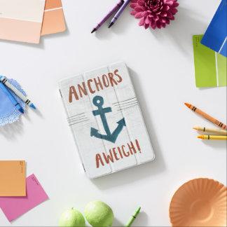 Coastal Art   Anchors Away iPad Mini Cover