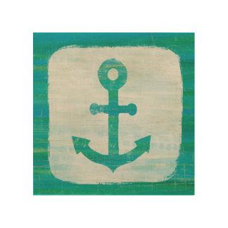 Coastal Art | Aqua Anchor
