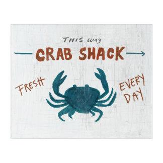 Coastal Art | Crab Shack