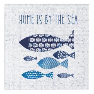 Coastal Art | Home is By the Sea