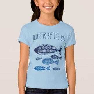 Coastal Art | Home is By the Sea T-Shirt