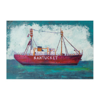 Coastal Art | Nantucket Lightship
