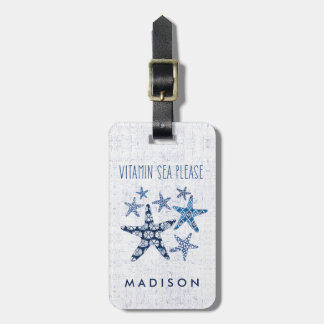 Coastal Art | Vitamin Sea Please Luggage Tag