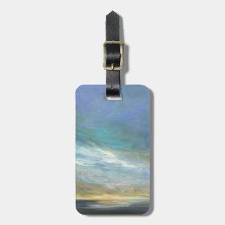 Coastal Clouds Luggage Tag