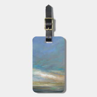 Coastal Clouds with Ocean Luggage Tag