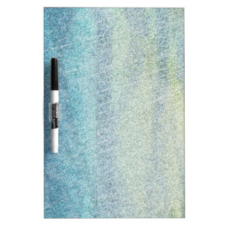 Coastal Colors Abstract Dry Erase Whiteboard
