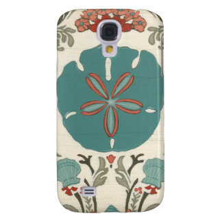 Coastal Damask I Galaxy S4 Case