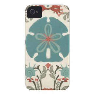 Coastal Damask II iPhone 4 Case