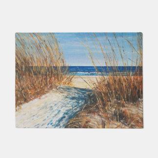 Coastal Decor Sand Dunes Beach Art   Doormat