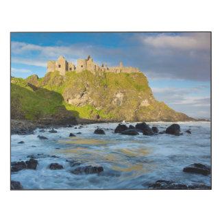 Coastal Dunluce castle, Ireland