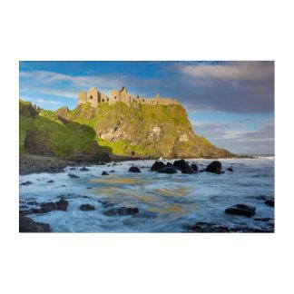 Coastal Dunluce castle, Ireland Acrylic Print