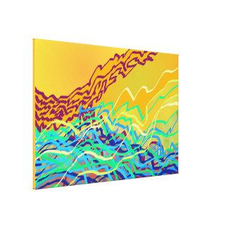Coastal Frequencies 2 Canvas Print