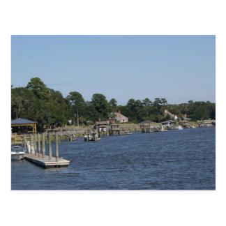 Coastal Georgia Postcard