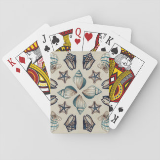 Coastal Kaleidoscope I Playing Cards