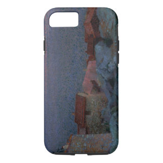 Coastal Landscape (oil on canvas) iPhone 8/7 Case