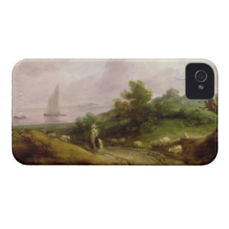 Coastal Landscape with a Shepherd and his Flock, c Case-Mate iPhone 4 Cases