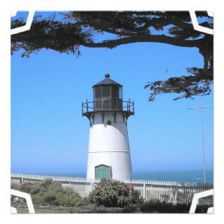Coastal Lighthouse Invitation