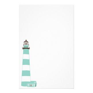 Coastal Lighthouse Personalized Stationery