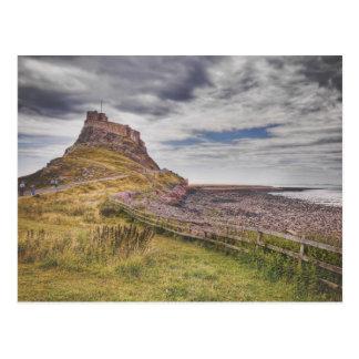 Coastal Lindisfarne Postcard