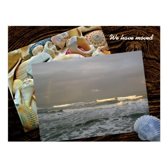 Coastal Living Photo Template New Address Postcard