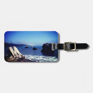 Coastal luggage tag