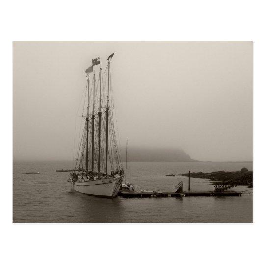 Coastal Maine Postcard