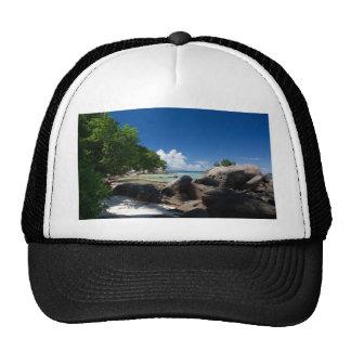 Coastal Naturescape Beach Vacation Mesh Hat