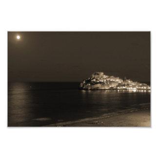 Coastal night photograph