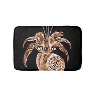 Coastal ocean sea beach black bath mats