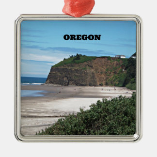 Coastal Oregon Christmas Ornament