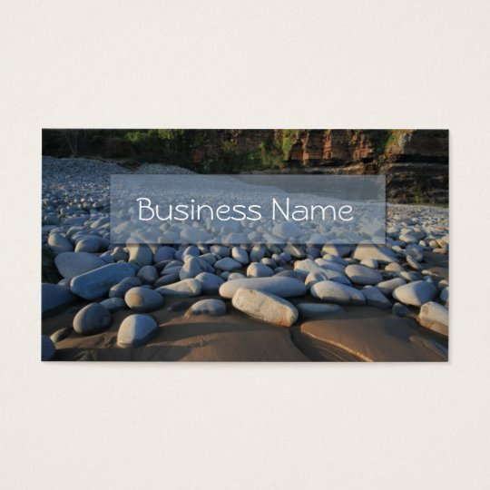 Coastal Pebbles Business Card