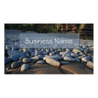 Coastal Pebbles Business Card