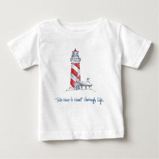 Coastal Quote | Take Time To Coast Through Life Baby T-Shirt