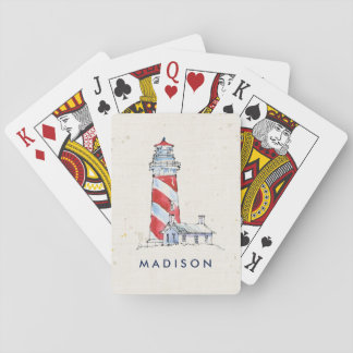 Coastal Quote   Take Time To Coast Through Life Playing Cards
