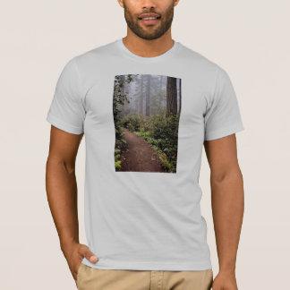 Coastal redwoods, Lady Bird Johnson Grove, Califor T-Shirt