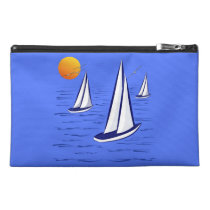 Coastal Sailing Yachts at Sunset Accessory Bags