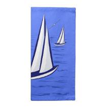 Coastal Sailing Yachts at Sunset Cloth Napkins