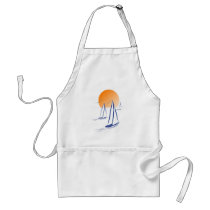 Coastal Sailing Yachts at Sunset Standard Apron