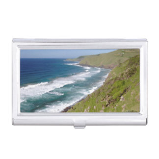 Coastal Scenery Coffee Bay Business Card Holder