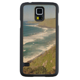 Coastal Scenery Coffee Bay Carved Maple Galaxy S5 Case