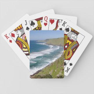 Coastal Scenery Coffee Bay Playing Cards