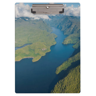 Coastal Scenery In Great Bear Rainforest Clipboard