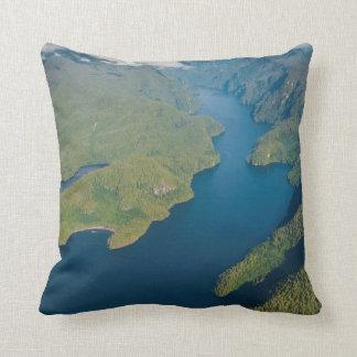Coastal Scenery In Great Bear Rainforest Cushion