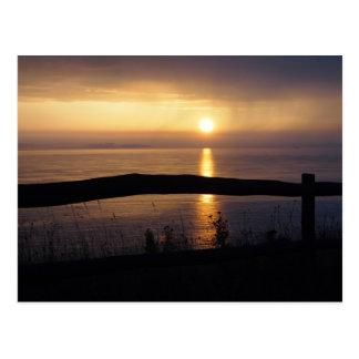 """""""Coastal Sunrise"""" Postcard"""