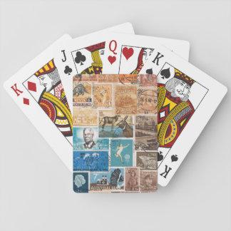 Coastal Sunset Playing Cards, Boho Travel Art Playing Cards